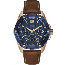Buy Guess Men's Watch Flagship W0600G3 Multifunction