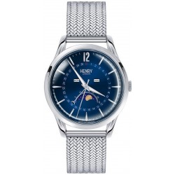 Buy Henry London Unisex Watch Knightsbridge HL39-LM-0085 Moonphase Quartz