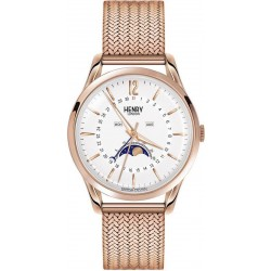 Buy Henry London Unisex Watch Richmond HL39-LM-0162 Moonphase Quartz