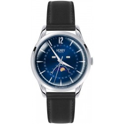 Buy Henry London Unisex Watch Knightsbridge HL39-LS-0071 Moonphase Quartz