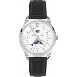 Buy Henry London Unisex Watch Edgware HL39-LS-0083 Moonphase Quartz