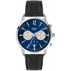 Buy Henry London Men's Watch Knightsbridge HL41-CS-0039 Chronograph Quartz