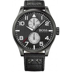Buy Hugo Boss Men's Watch Aeroliner Quartz Multifunction 1513086