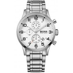 Buy Hugo Boss Men's Watch Aeroliner Quartz Chronograph 1513182