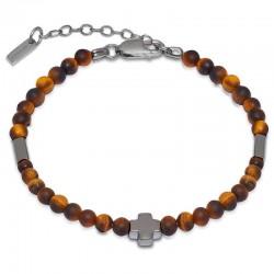 Jack & Co Men's Bracelet Cross-Over JUB0002