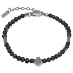 Jack & Co Men's Bracelet Cross-Over JUB0005