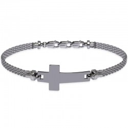Buy Jack & Co Men's Bracelet Cross-Over JUB0018