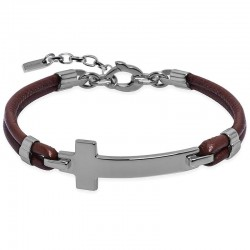 Buy Jack & Co Men's Bracelet Cross-Over JUB0032
