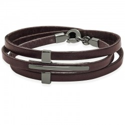 Buy Jack & Co Men's Bracelet Cross-Over JUB0040