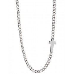 Jack & Co Men's Necklace Cross-Over JUN0007