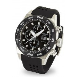 Locman Men's Watch Stealth 300MT Quartz Chronograph 0217V1-0KBKNKS2K