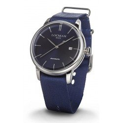 Locman Men's Watch 1960 Automatic 0255A02A-00BLNKNB