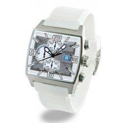 Locman Men's Watch Stealth Quartz Chronograph 030100WHFSK0SIW