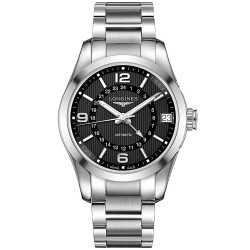 Buy Longines Men's Watch Conquest Classic L27994566 GMT Automatic
