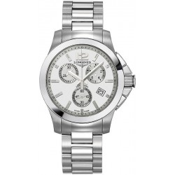 Buy Longines Unisex Watch Conquest Classic L32794766 Quartz Chronograph