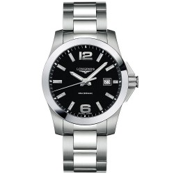 Buy Longines Men's Watch Conquest Quartz L36594586