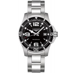 Longines Men's Watch Hydroconquest L37404566 Quartz