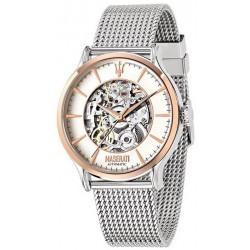 Maserati Men's Watch Traguardo R8823118001 Automatic