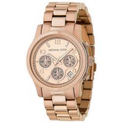 Michael Kors Women's Watch Runway Chronograph MK5128