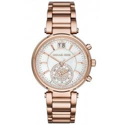 Michael Kors Women's Watch Sawyer MK6282 Chronograph