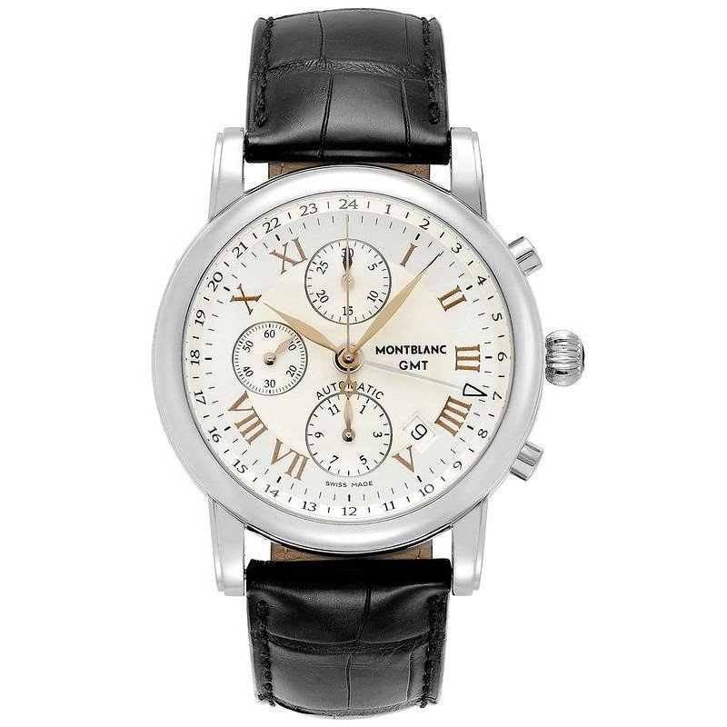 9643426505b Montblanc Star Chronograph GMT Automatic Men's Watch 36967