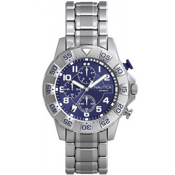 Buy Nautica Men's Watch NSR 104 NAD16003G Chronograph