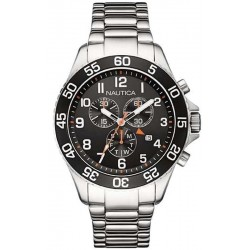 Nautica Men's Watch NST 19 NAI17509G Chronograph