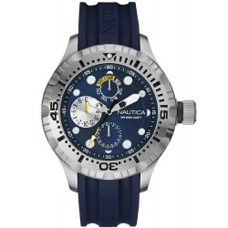 Buy Nautica Men's Watch BFD 100 Box Set Multifunction NAI17512G