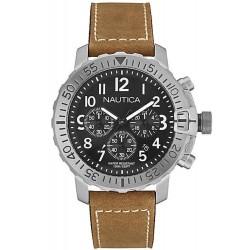 Nautica Men's Watch NMS 01 USS NAI18506G Chronograph