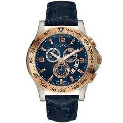 Nautica Men's Watch NST 600 Chronograph NAI19502G