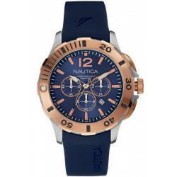 Nautica Men's Watch BFD 101 Dive Style Chronograph NAI19506G