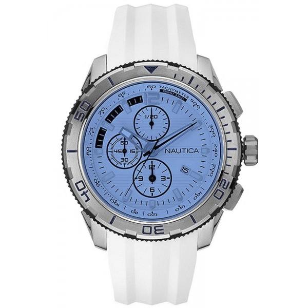 Buy Nautica Men's Watch NST 101 NAI19520G Chronograph