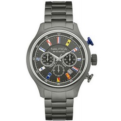 Nautica Men's Watch NCT Flag Chronograph NAI20011G