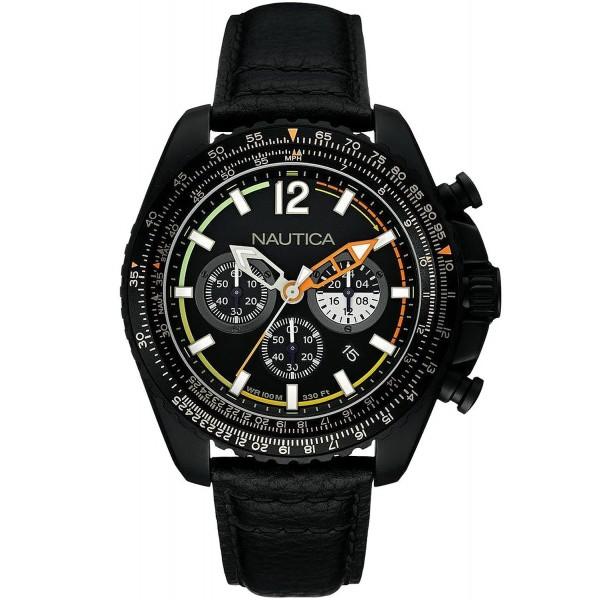 Buy Nautica Men's Watch NMX 1500 NAI22506G Chronograph
