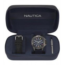 Nautica Men's Watch Miami Flags Multifunction NAPMIA008