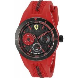 Buy Scuderia Ferrari Men's Watch Red Rev 0830258