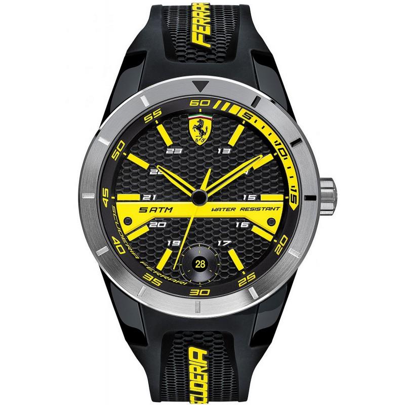 Scuderia Ferrari Men S Watch Red Rev T 0830277 New Fashion Jewelry