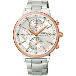 Buy Seiko Unisex Watch Neo Classic SNDW48P1 Chronograph Quartz