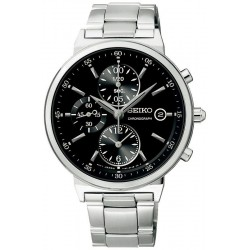 Buy Seiko Unisex Watch Neo Classic SNDW49P1 Chronograph Quartz