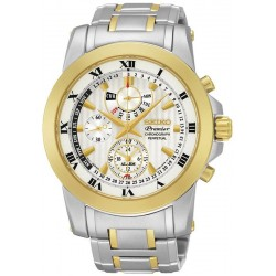 Buy Seiko Men's Watch Premier Chronograph Perpetual Calendar Alarm SPC162P1
