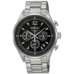 Seiko Men's Watch SSB067P1 Chronograph Quartz