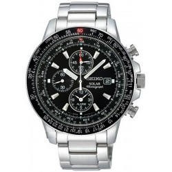 Buy Seiko Men's Watch Prospex Sky Chronograph Solar SSC009P1