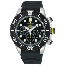 Buy Seiko Men's Watch Prospex Chronograph Diver's 200M Solar SSC021P1