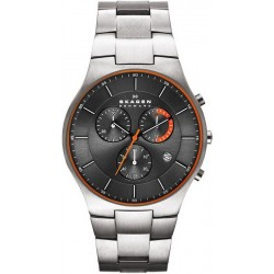 Buy Skagen Men's Watch Balder Titanium SKW6076 Chronograph