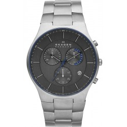 Buy Skagen Men's Watch Balder Titanium Chronograph SKW6077