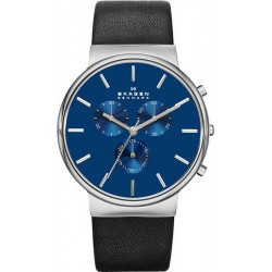 Buy Skagen Men's Watch Ancher Chronograph SKW6105