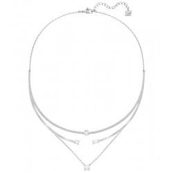Swarovski Women's Necklace Gray 5272360