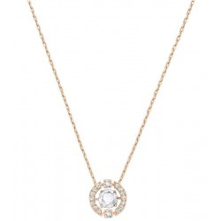 Swarovski Women's Necklace Sparkling Dance Round 5272364