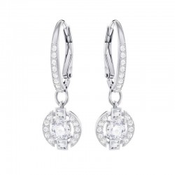 Buy Swarovski Women's Earrings Sparkling Dance Round 5272366