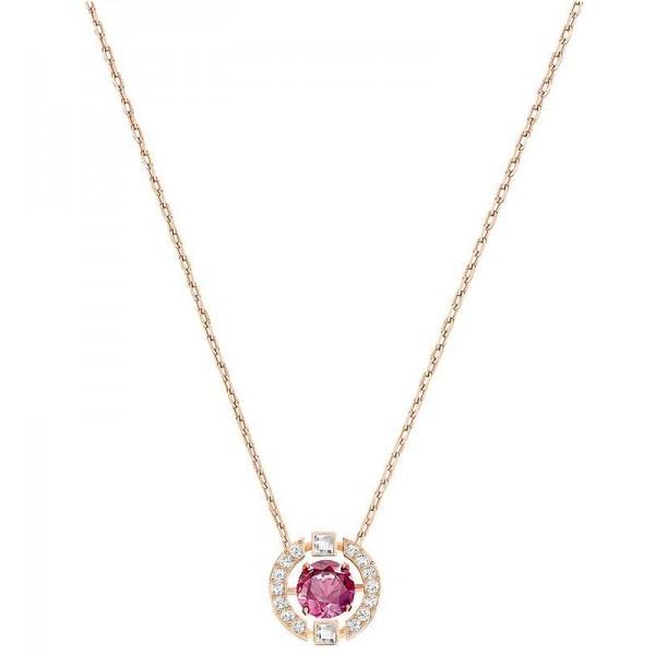 Buy Swarovski Women's Necklace Sparkling Dance Round 5279421